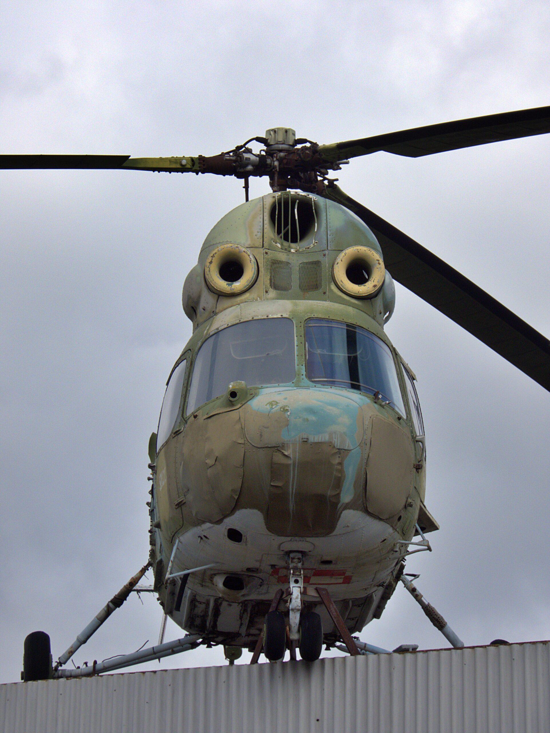 Mi-2 Hubschrauber in Oschersleben